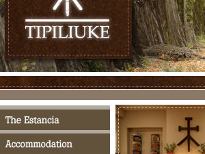 Tipiliuke Resort Website Design